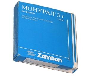 Монурал упаковка