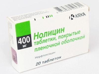 Нолицин (Норфлоксацин)