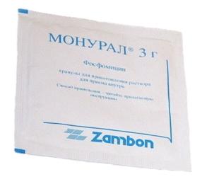 Монурал пакетик 3г