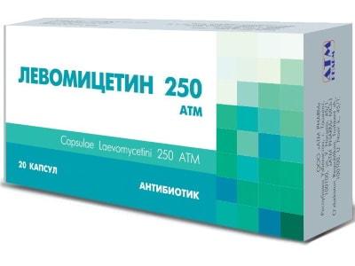 Левомицетин при цистите у женщин